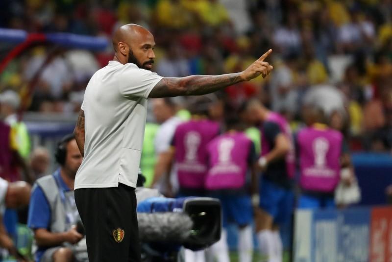 Тьерри Анри работал в штабе сборной Бельгии на ЧМ-2018 / REUTERS