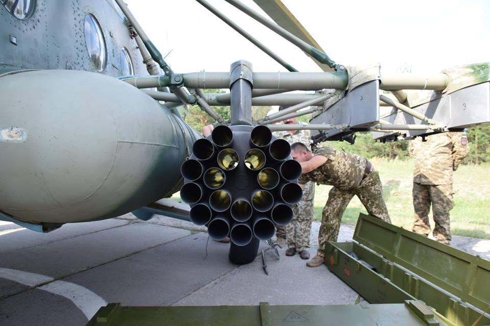 Ракеты «Оскол» успешно прошли очередной этап испытаний / фото facebook Александр Штупун
