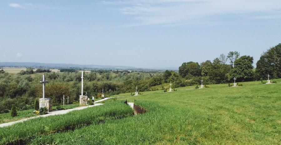 На Прикарпатті освятили релігійно-історичний центр «Гора над Дністром» (фоторепортаж)