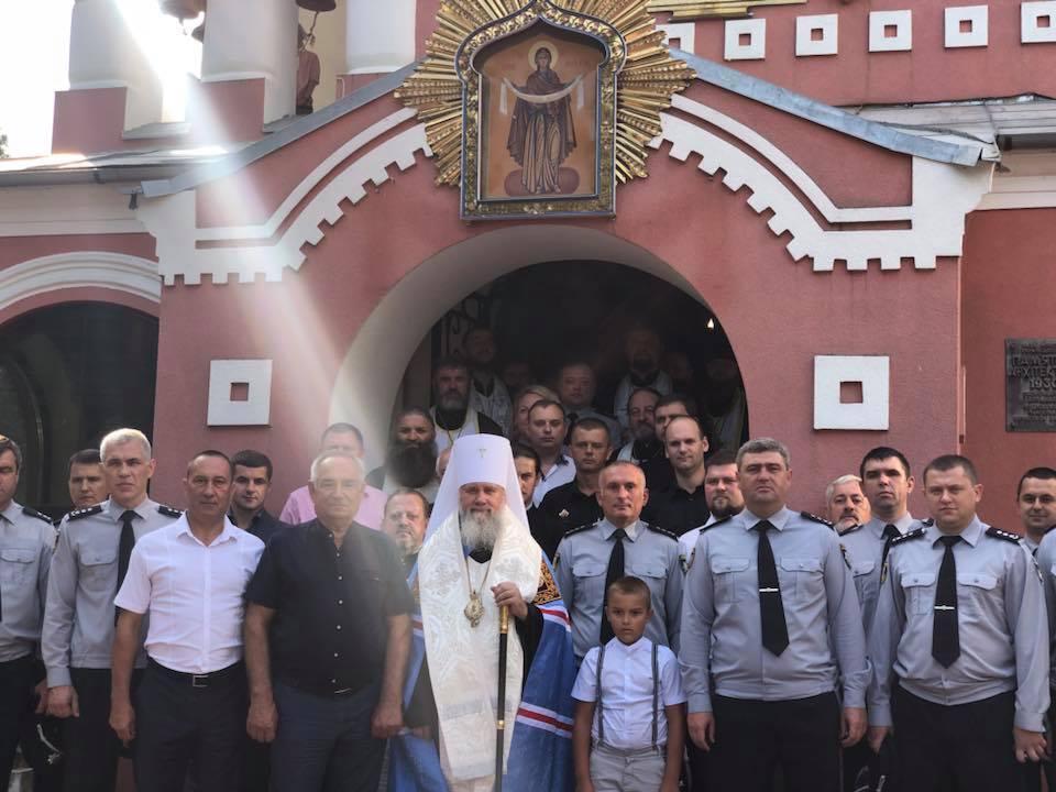 День пам`яті загиблих працівників органів внутрішніх справ в Ужгороді / m-church.org.ua