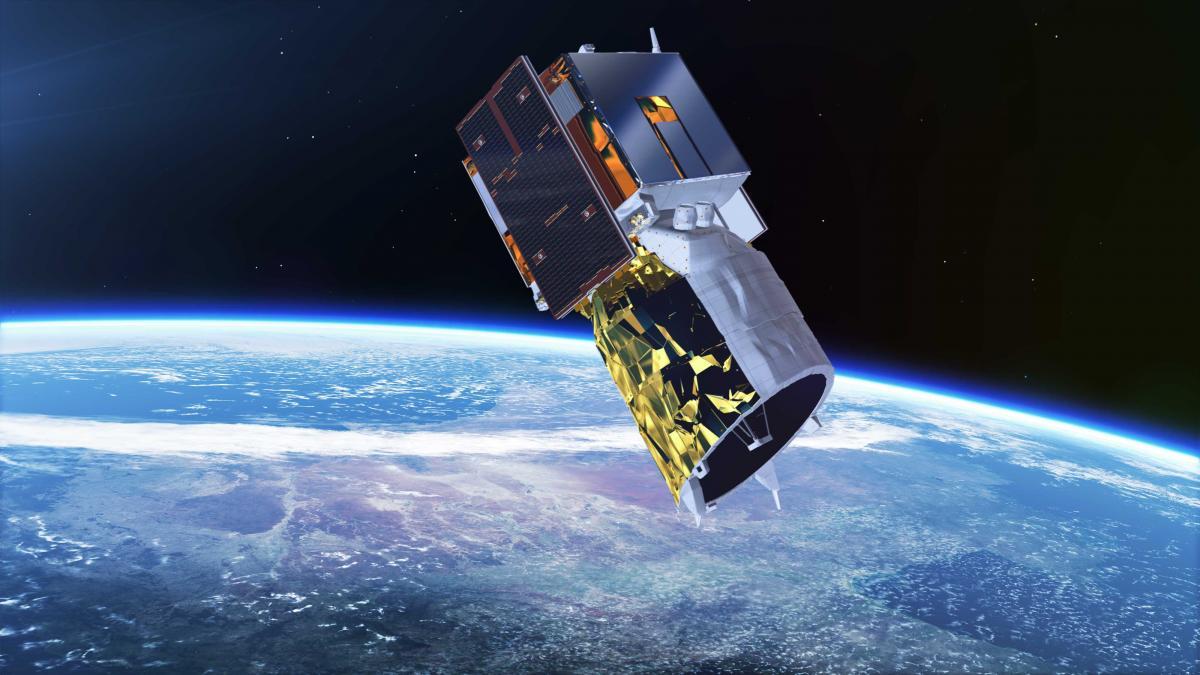 ESA запустила супутник ADM-Aeolus / фото ESA