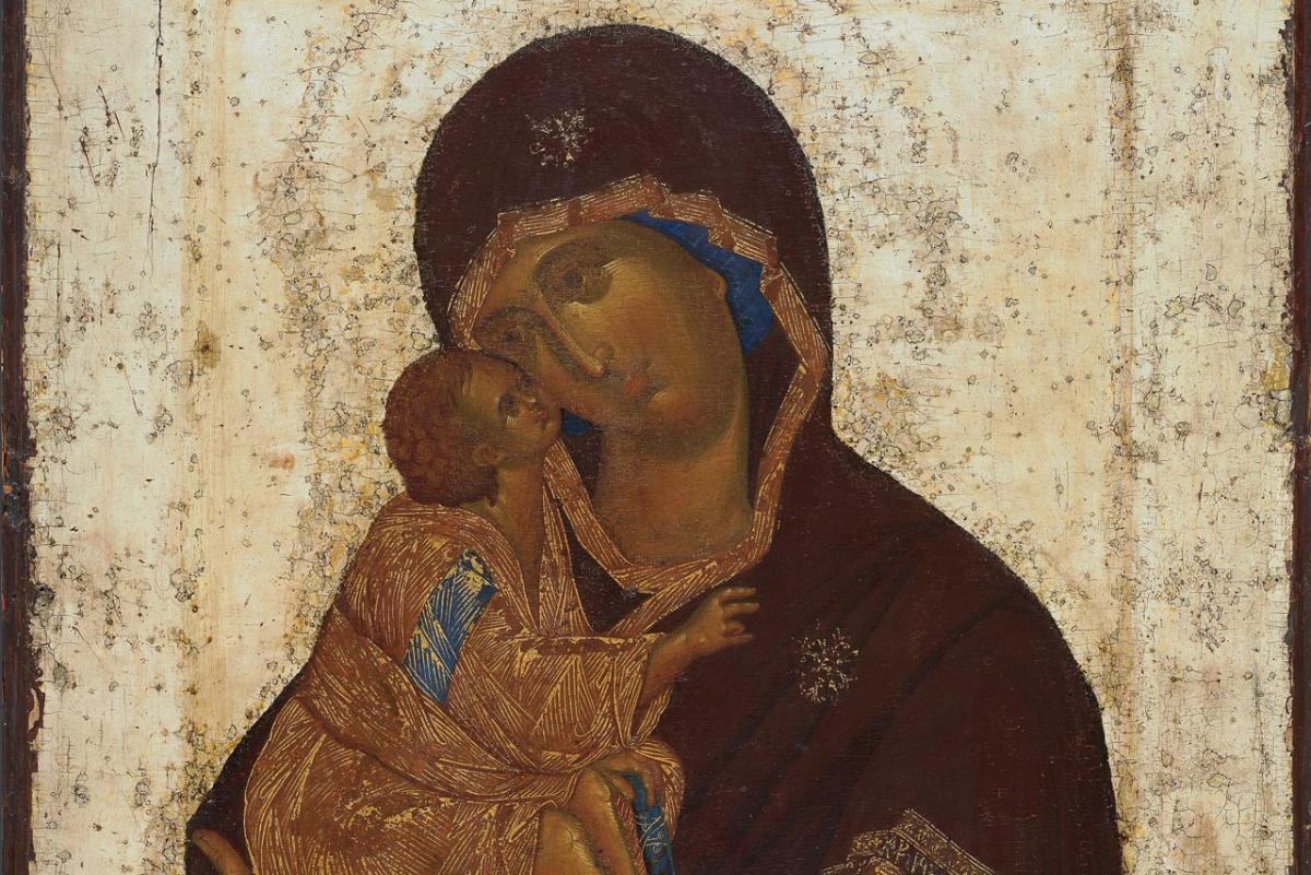 Ікона XIV століття імовірно належить пензлю преподобного Феофана Грека / donskoi.org