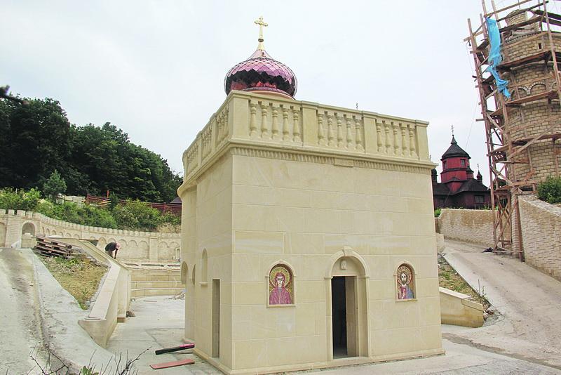 В здание «Украинского Иерусалима» в Зарванице встроят камень изГроба Господня / tze.org.ua
