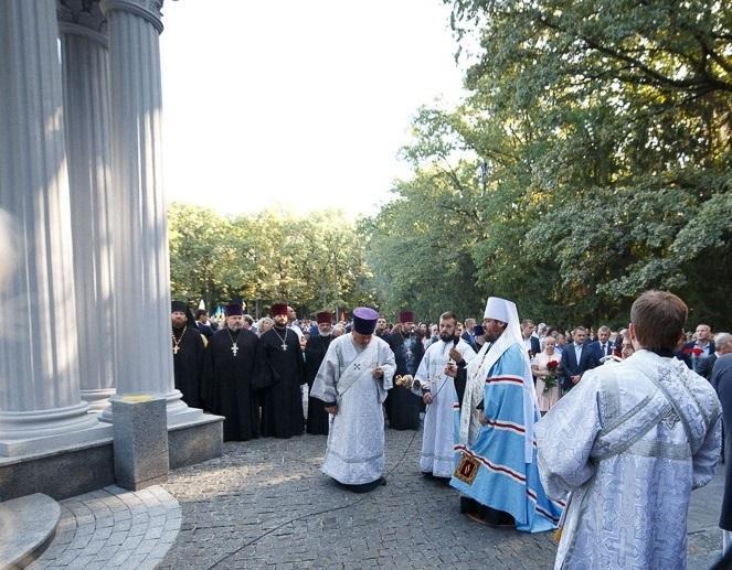 У День міста у Харкові молилися про загиблих визволителів / eparchia.kharkov.ua