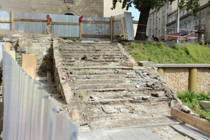 Останній раз цісходи ремонтували у1970-х роках / city-adm.lviv.ua