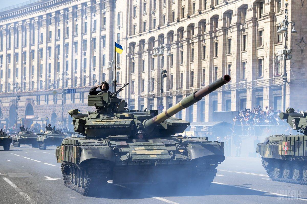 В столице пройдет военный парад / архивное фото УНИАН