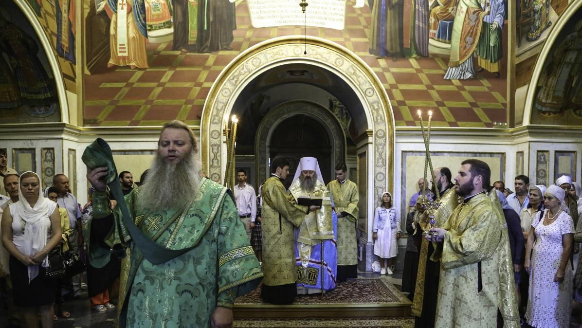 Молитва за Украину в Киево-Печерской лавре / news.church.ua