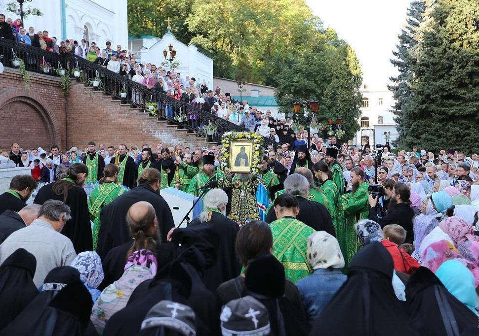 В Святых Горах молитвенно отметили день памяти преподобного ИоаннаЗатворника / svlavra.church.ua