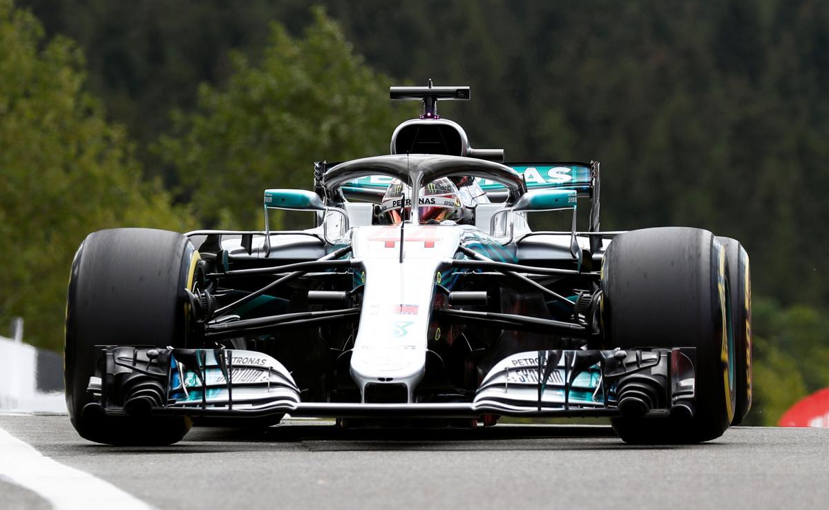 Хемілтон став найкращим у кваліфікації Гран-прі Бельгії / Reuters