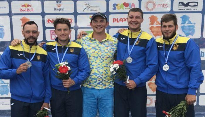 Українська четвірка завоювала срібло чемпіонату світу / canoe.in.ua