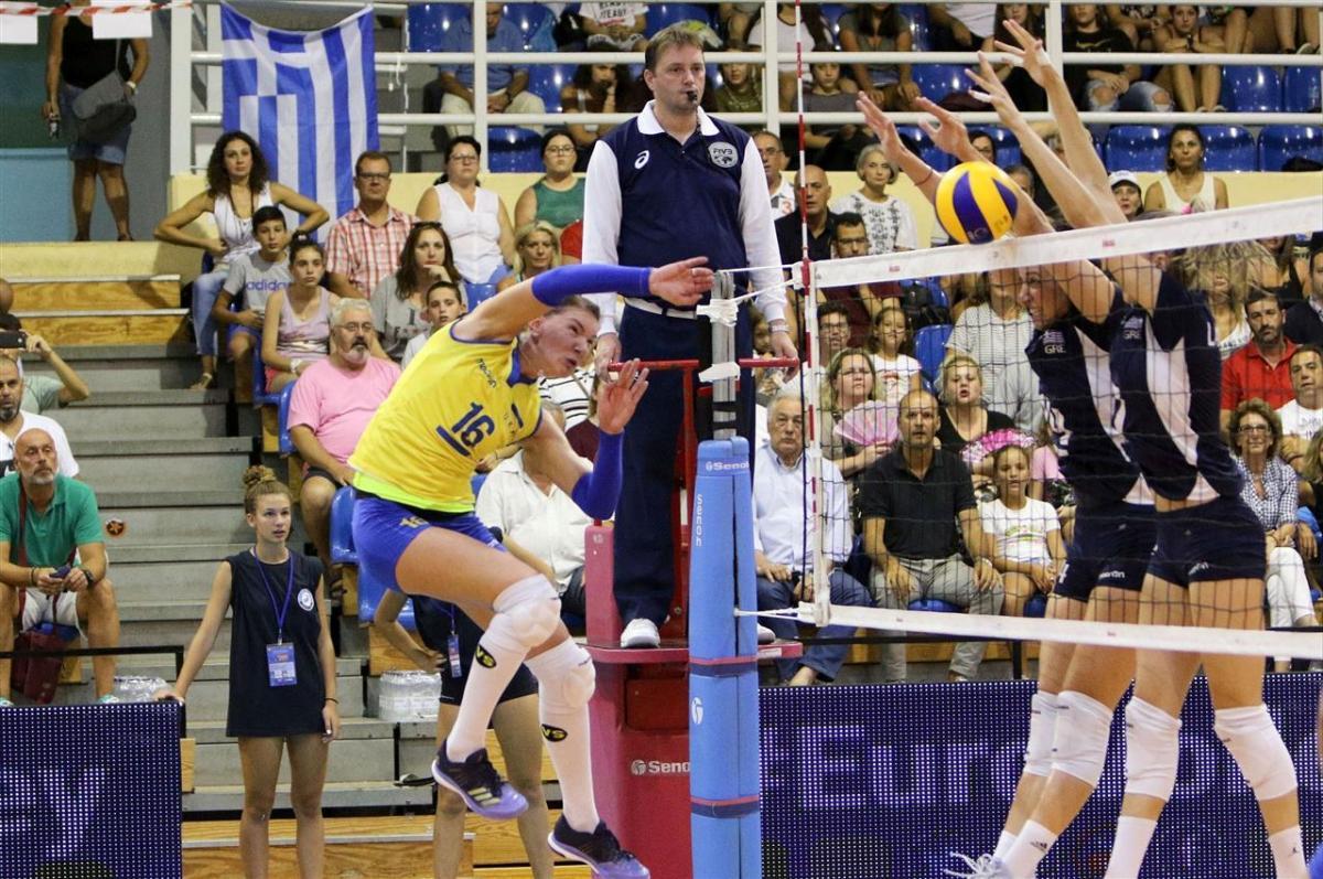 Українки знову програли збірній Греції у відборі Євро-2019 / cev.eu