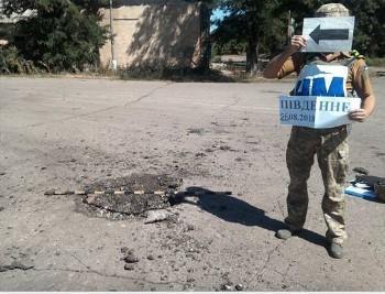 Вогонь вівся у напрямку Горлівка – Південне / фото прес-центр штабу ООС