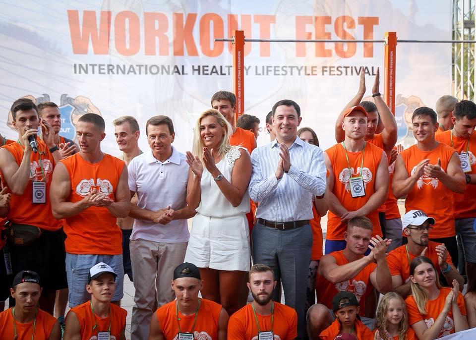 Прокопів: Київ на високому рівні провів міжнародний спортивний фестиваль Workout Fest-2018