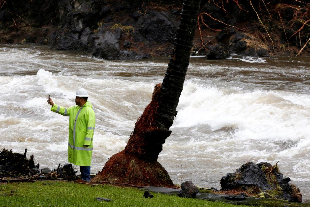 Наслідки буревію на Гаваях / REUTERS