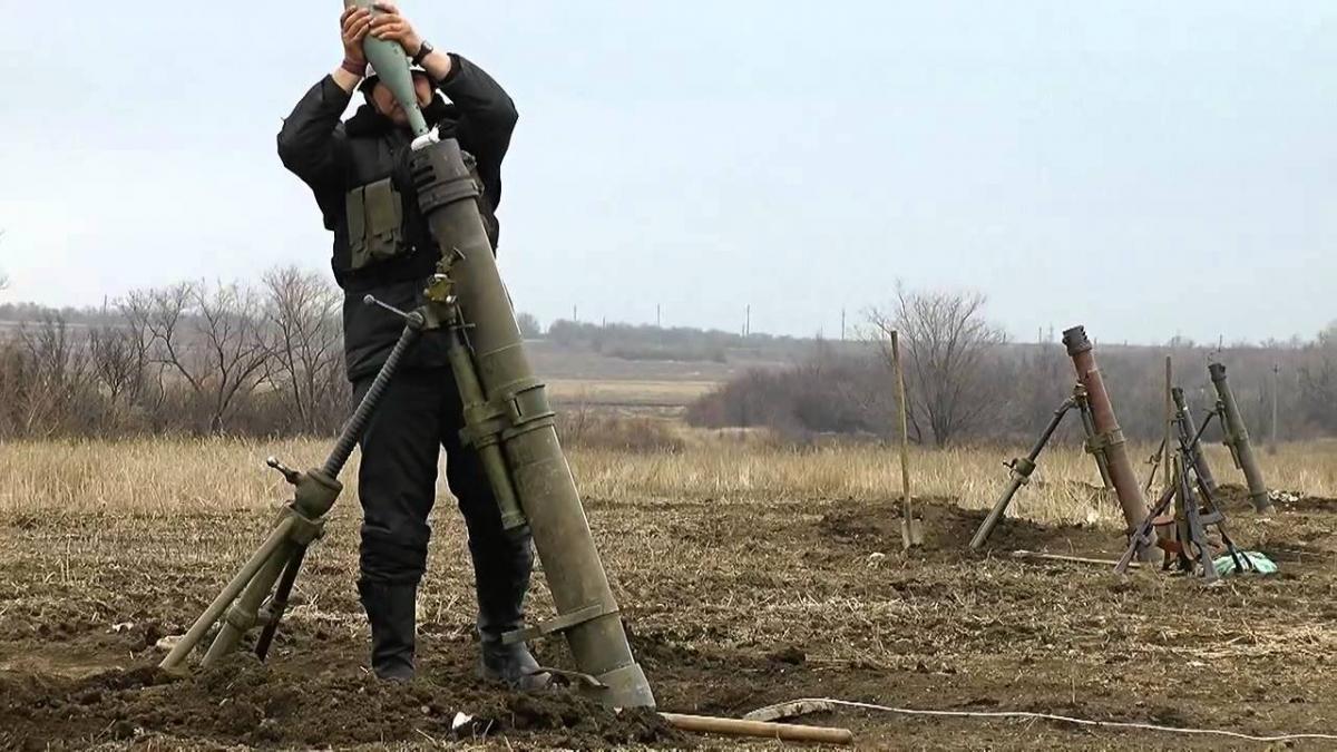 В результаті обстрілу знищена чергова кулеметна точка противника / 112.ua