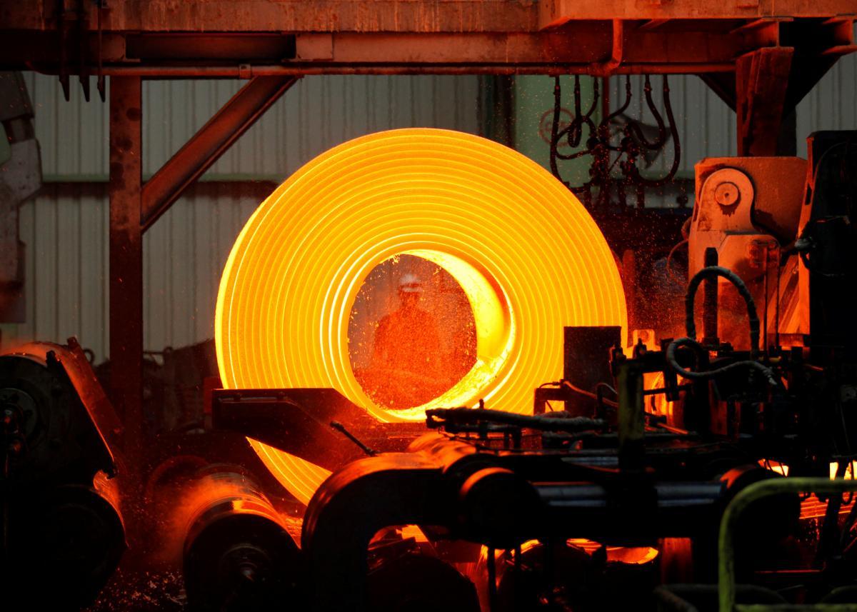 Україна опустилася у світовому рейтингу виробників сталі / REUTERS