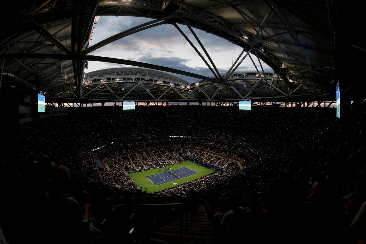 Стадион имени Артура Эша в Нью-Йорке / REUTERS