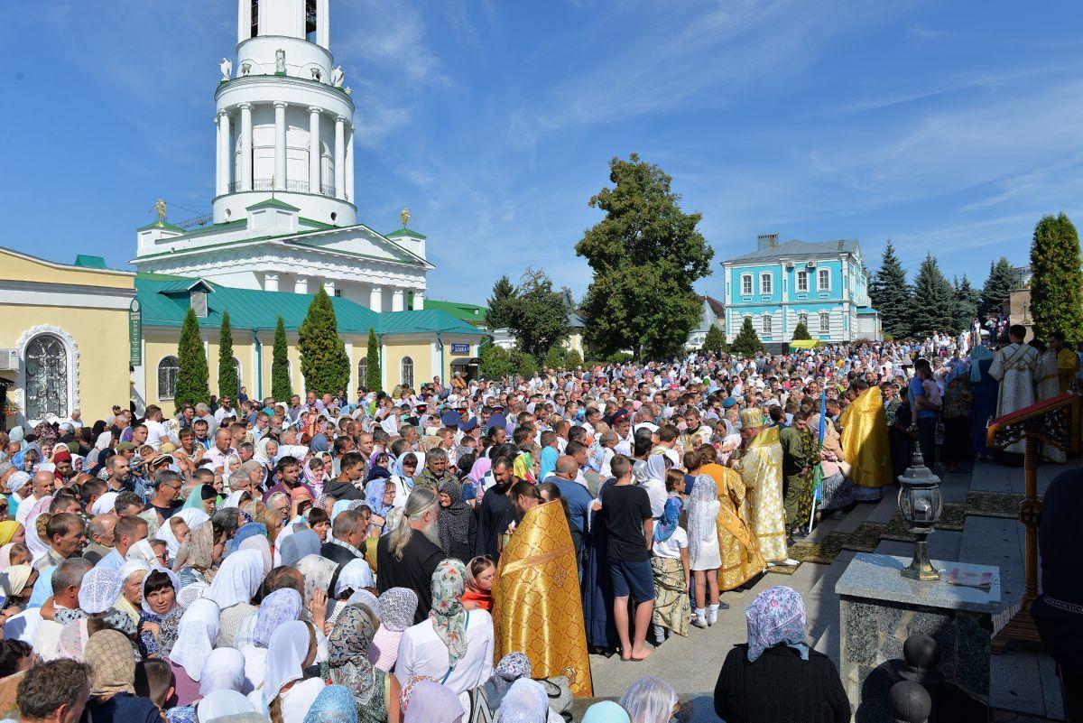 Тысячи православных приняли участие в торжествах в день праздника святителя Тихона Задонского/ mitropolia-lip.ru