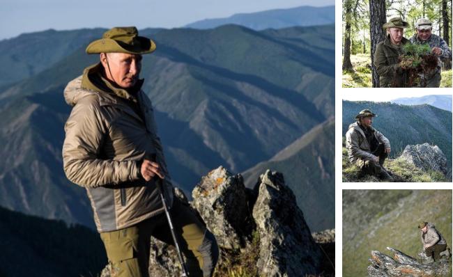 Путін знову відправився в Тиву / фото: Лентач, TJ