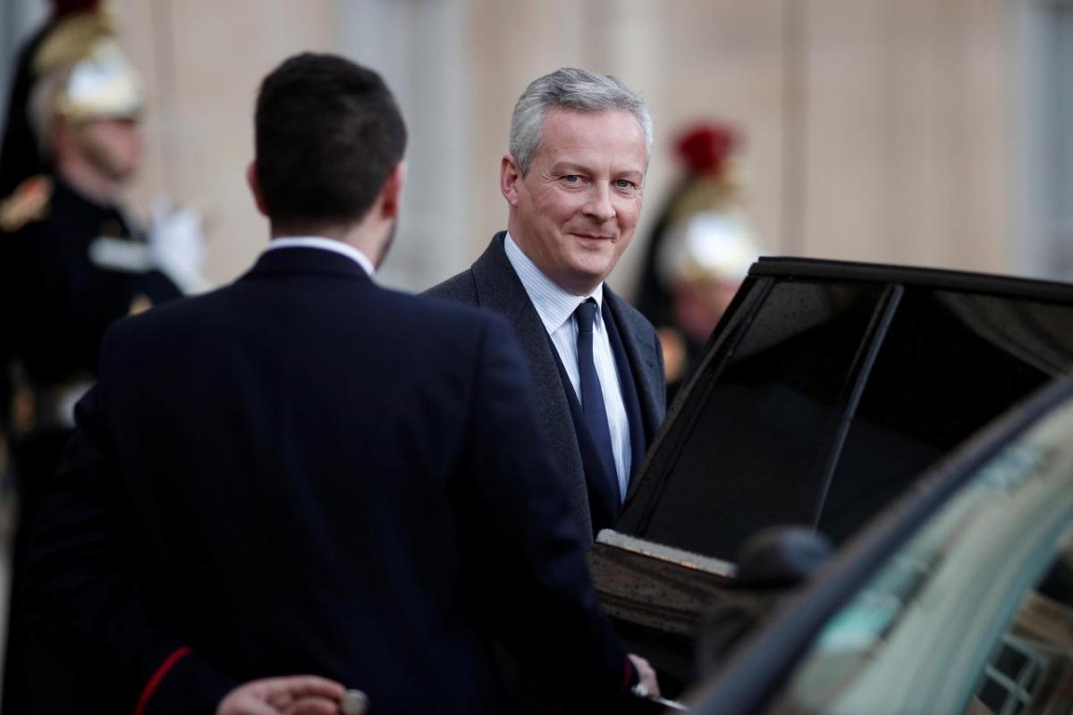 Міністра фінансів Франції Брюно ле Мер / REUTERS