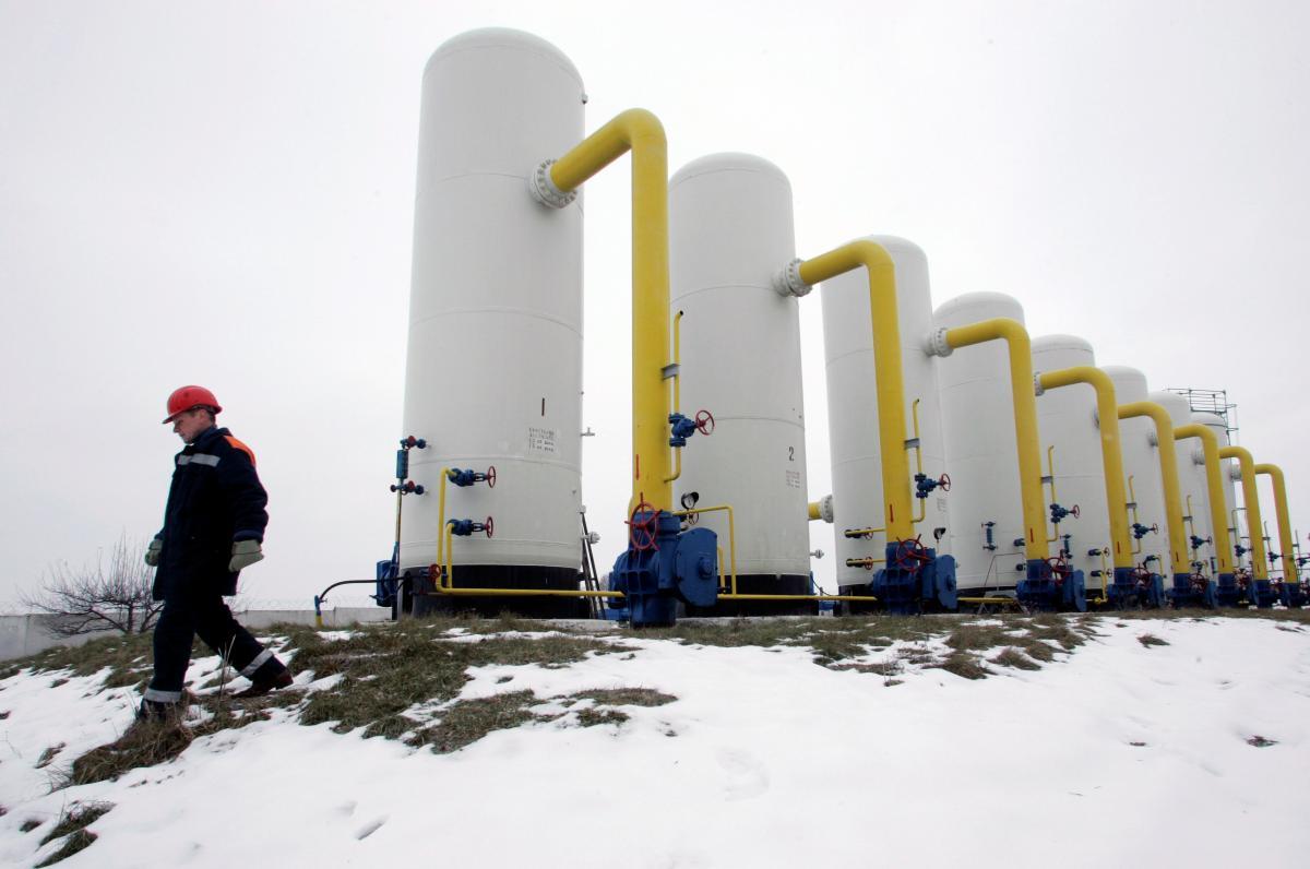 Важным событием прошедшего года также стало падение транзита газа через территорию Украины / фото REUTERS