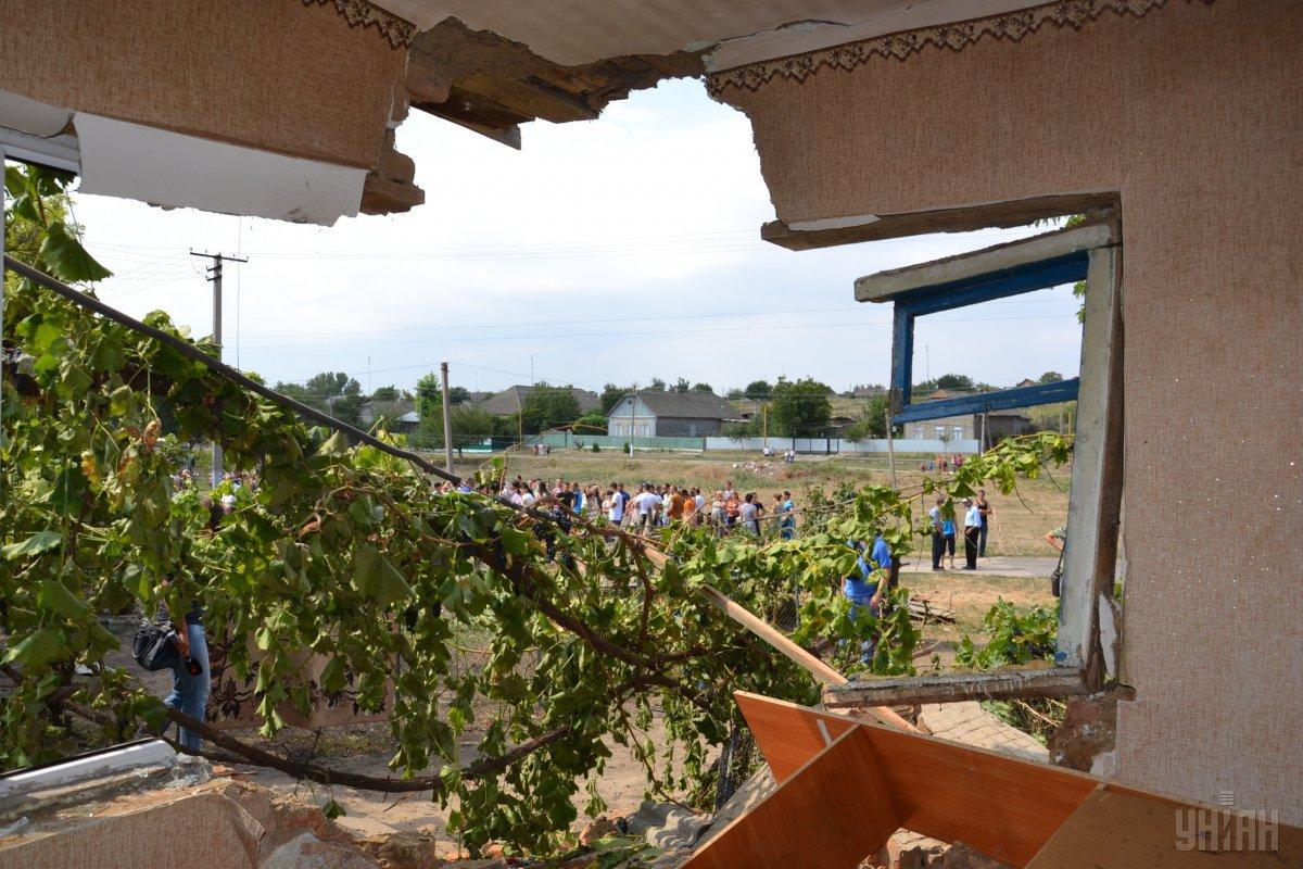 в домах ромов все разграблено, в некоторых – сожжено, но вопрос о возмещении ущерба даже не стоит / УНИАН