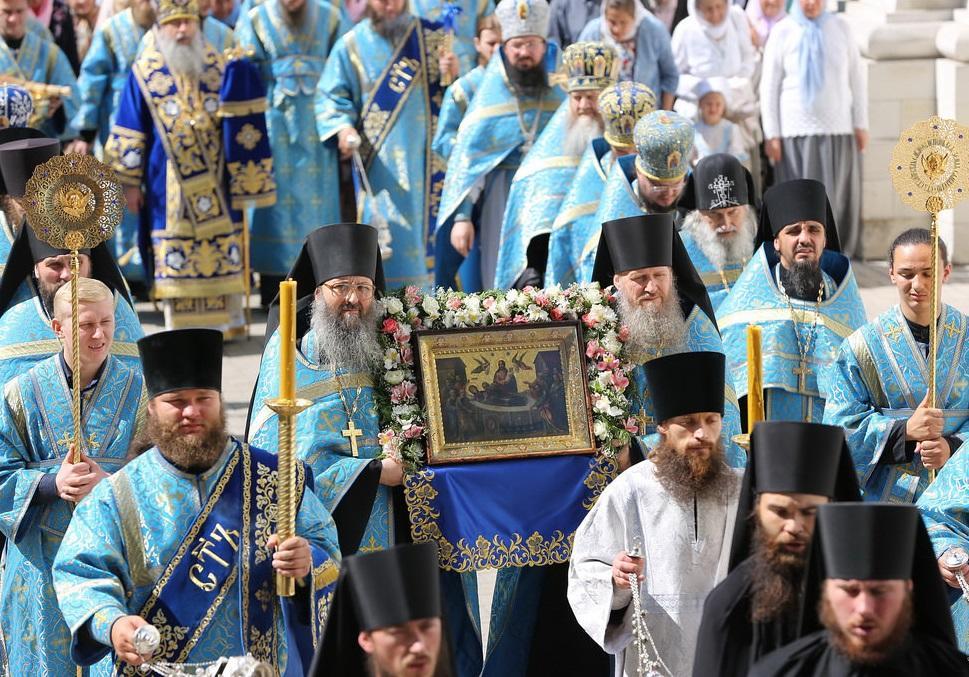 В Свято-Успенской Святогорской лавре отметили престольный праздник / svlavra.church.ua