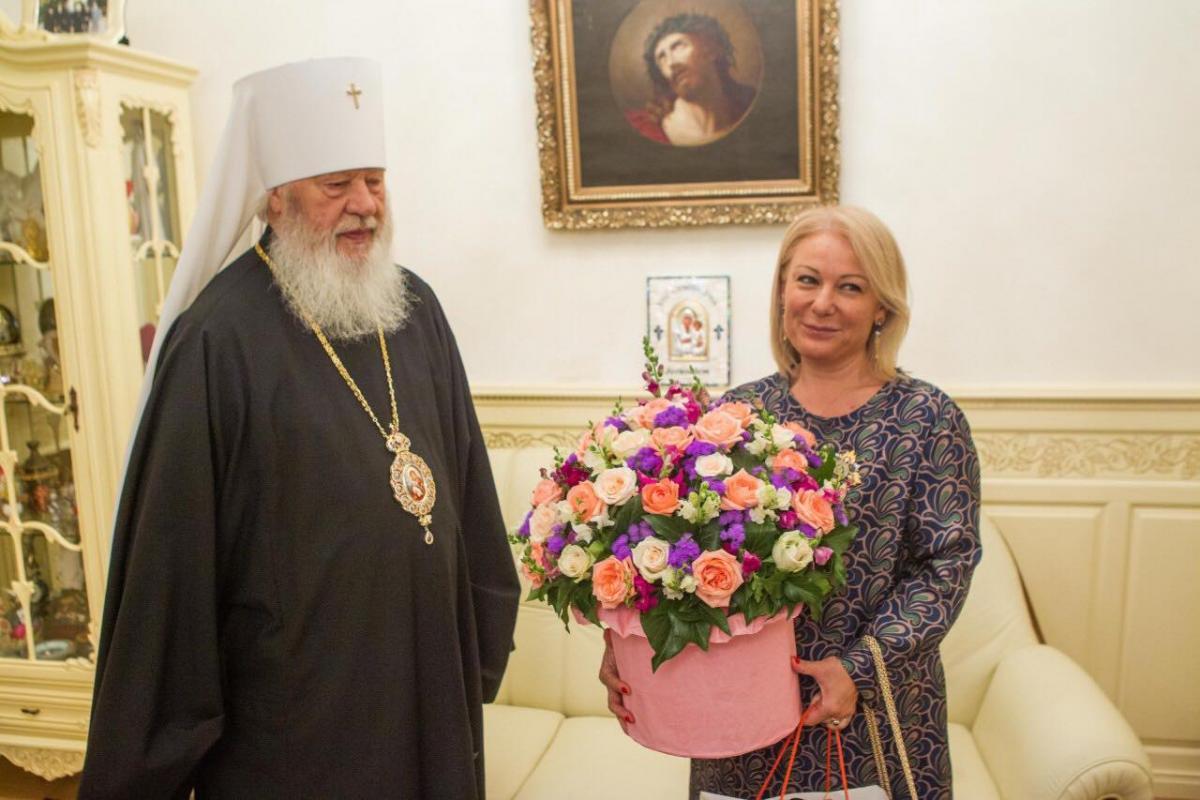 Митрополит Агафангел принял Генерального консула Греции в Одессе / eparhiya.od.ua