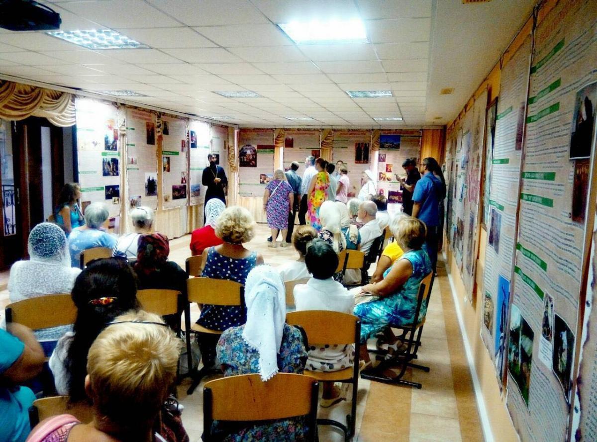 Состоялось открытие выставки «Свет Христов» / eparhiya.od.ua