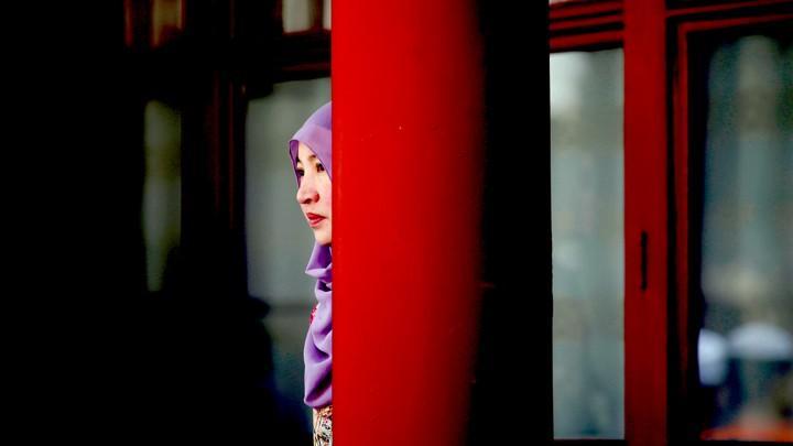 Мусульманка в Китае / REUTERS