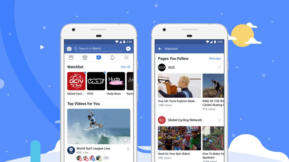 Facebook Watch став доступнимпо всьому світу / Фото newsroom.fb.com