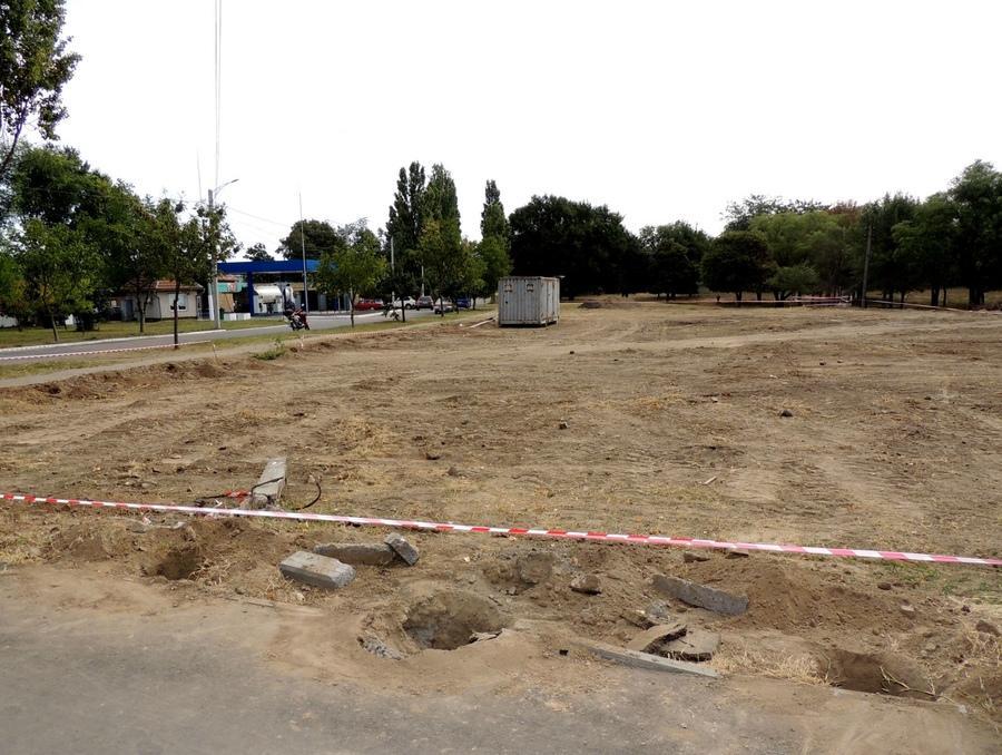 Територія кладовища-будівництва в Ізмаїлі/ Фото vaadua.org