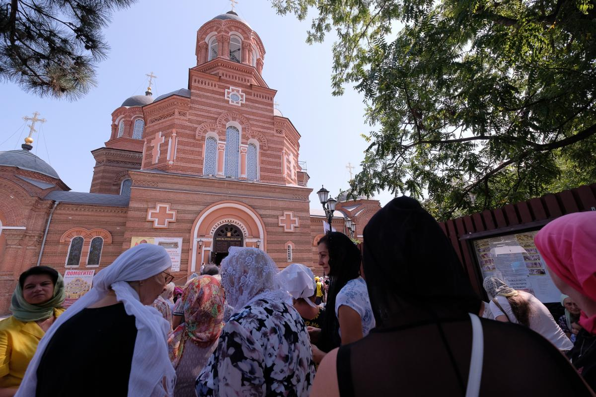 Кафедральный собор Краснодара стал единственным местом пребывания христианской святыни на Юге России / spiridon.patriarchia.ru