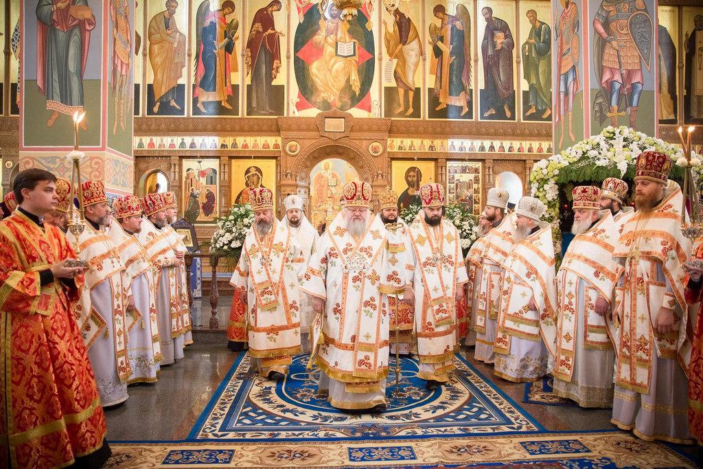 Урочисте богослужіння очолив митрополит Донецький і Маріупольський Іларіон / donetsk.church.ua