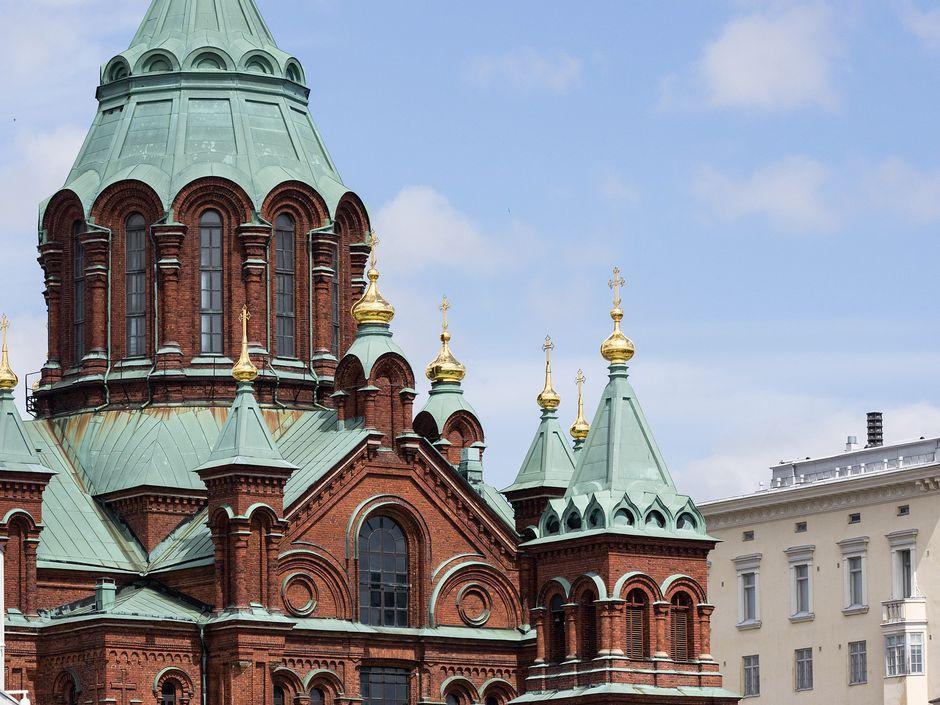Головним православним храмом Фінляндії є Успенський собор у Гельсінкі / Фото: Henrietta Hassinen / Yle