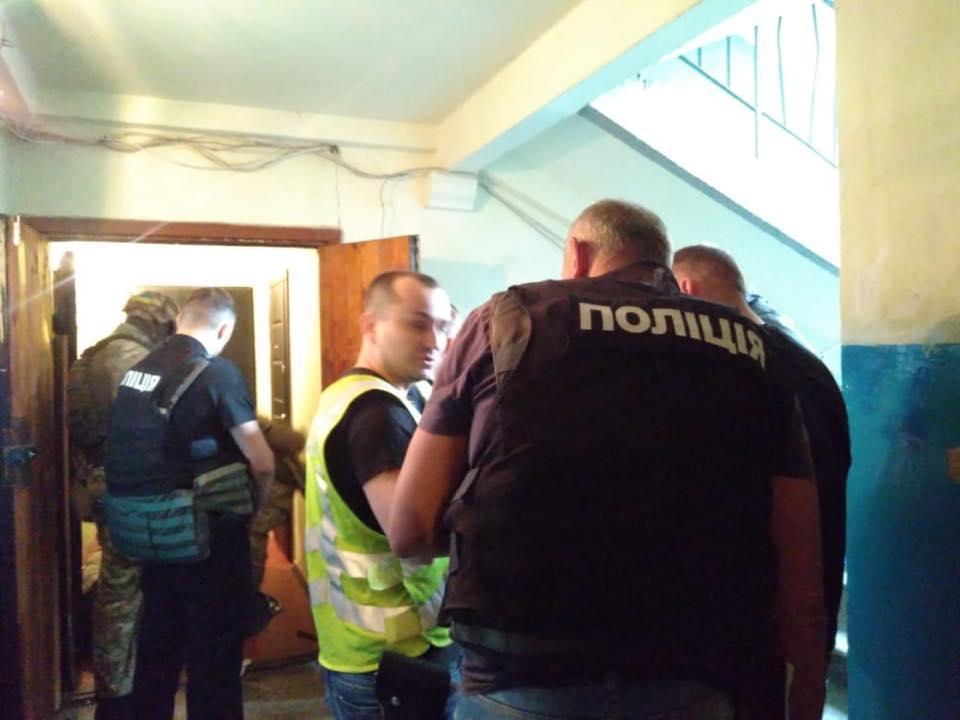 Злоумышленника уже задержали / фото полиция Киева, Facebook