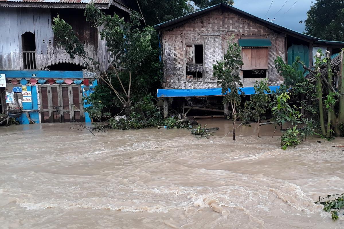 У М'янмі 20 сіл постраждали від повеней / REUTERS