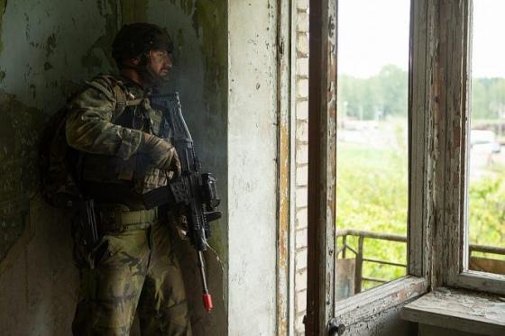 """Придушення """"зіткнень"""" у Латвії відпрацювали також союзні польські військові / фото Gatis Dieziņš, Міністерство оборони Латвії"""