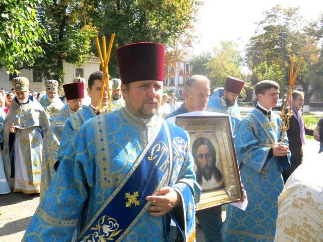 В Полтаве прошел крестный ход и молитва за Украину / pravoslavie.poltava.ua