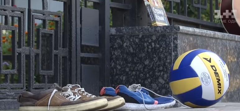 За місяць активісти обіцяють знову прийти до російського посольства / скріншот відео ТСН
