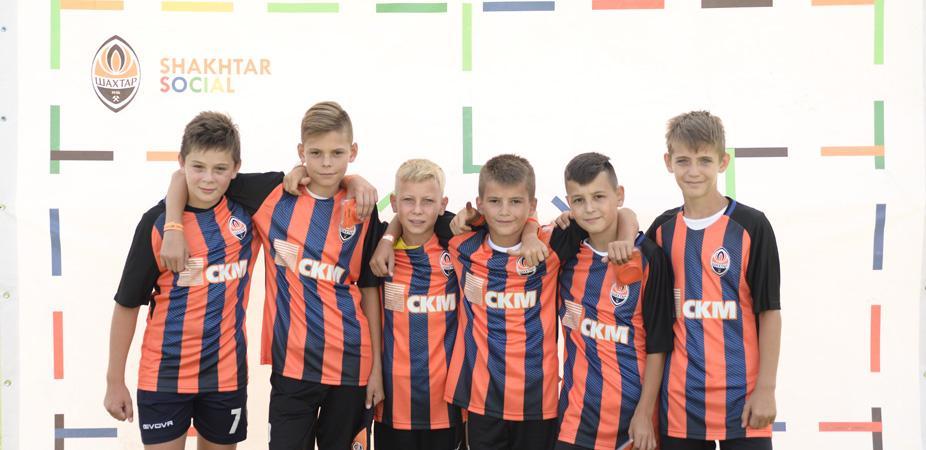 """""""Шахтар"""" продовжує серію дитячих турнірів Talent Day/ shakhtar.com"""