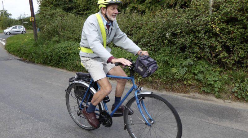 Многокилометровый велопробег стал для Питера Лэнгфорда третьим / invictory.org