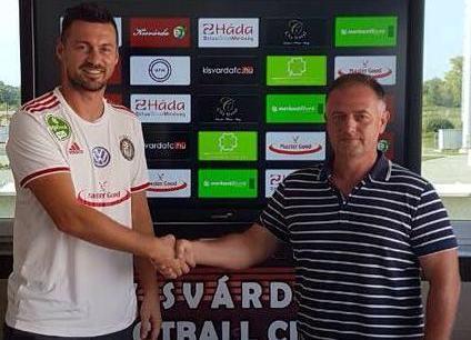 Милевский нашел себе новую команду / kisvardafc.hu