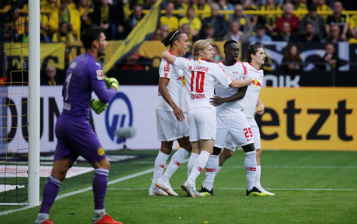 Лейпциг вышел в основной турнир Лиги Европы / Reuters