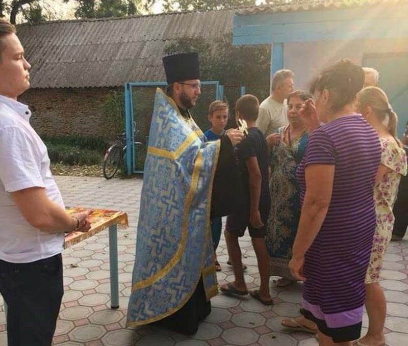 Молебень на початок навчального року здійснив протоієрей Іоанн Скалозуб / eparhiya.od.ua