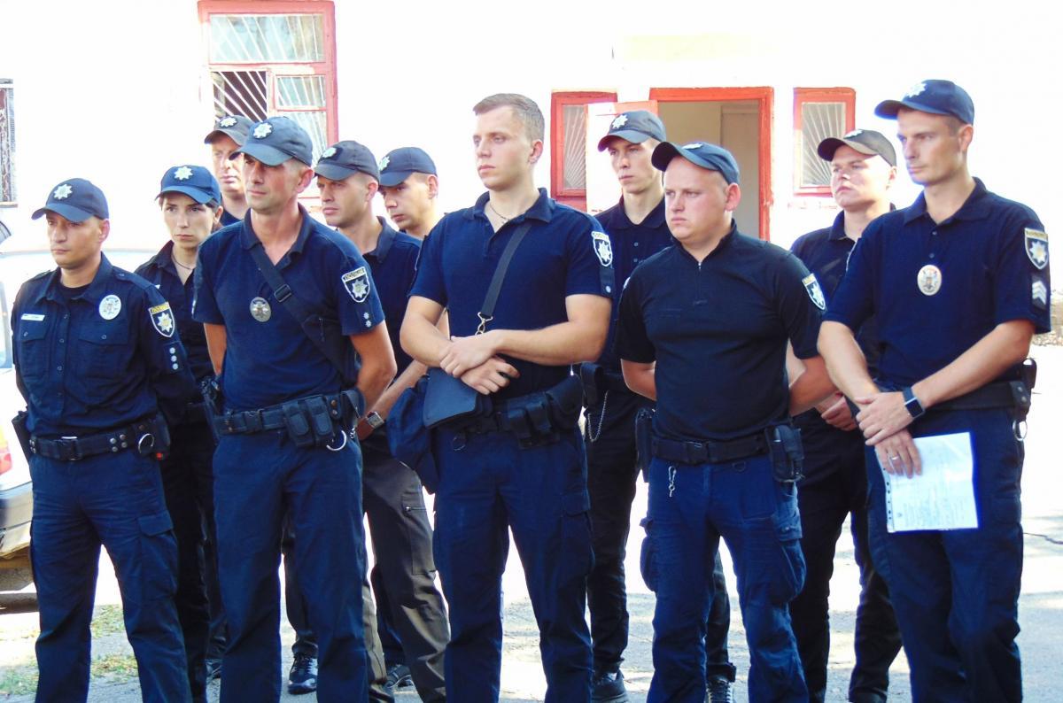 В Умань прибыли полицейские из 12 областей Украины / npu.gov.ua