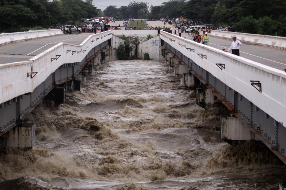 Повінь в М'янмі затопило десятки сіл / REUTERS
