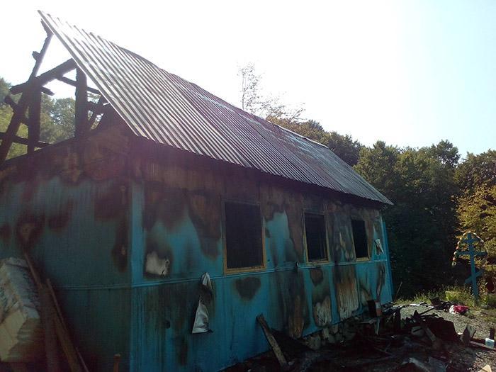 На Закарпатье неизвестные подожгли церковь УАПЦ / zakarpattya.net.ua