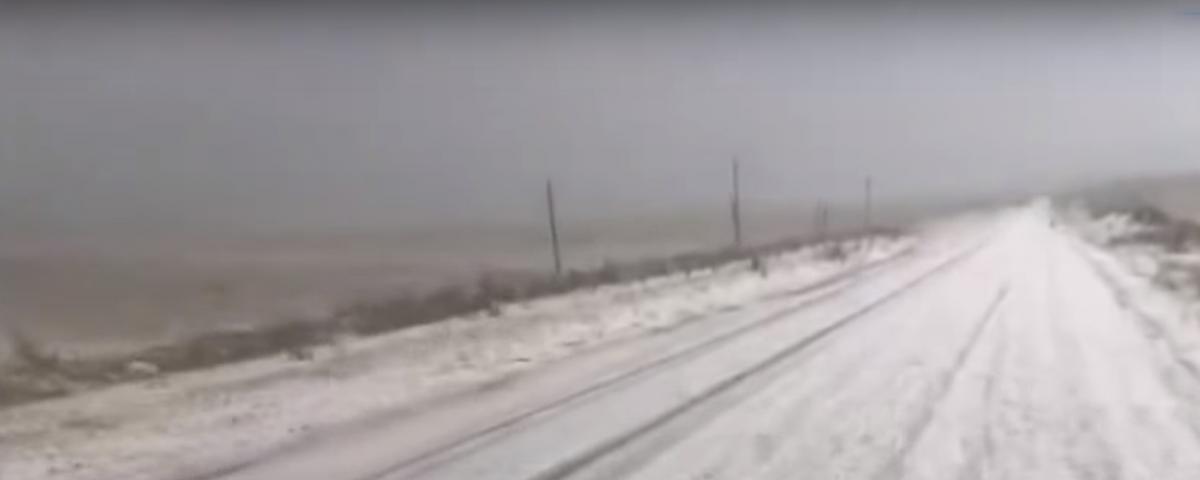 У Туреччині влітку випав сніг / скріншот youtube.com/Merkez Tv