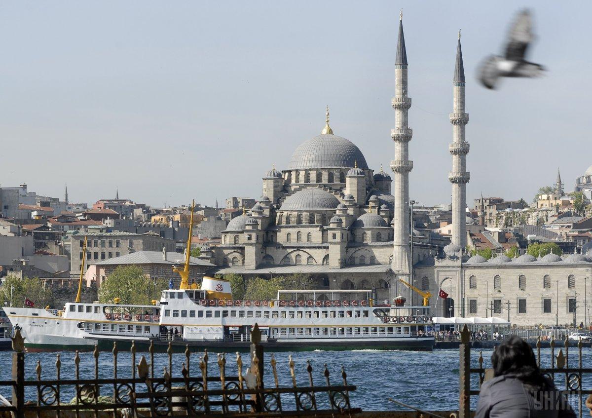 Вид на Голубую мечеть / Фото УНИАН